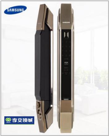 韩国三星指纹密码锁  P808