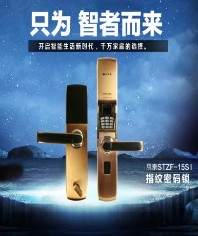 思泰指纹密码锁 ZF-15SI