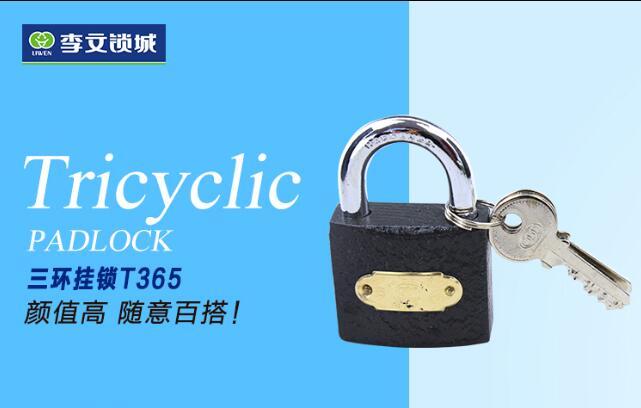 三环铁挂锁 T365