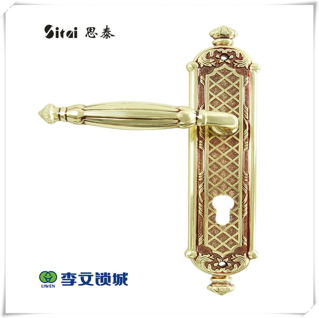 思泰(大荣)豪华铜锁L901-01GPL